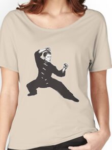 Kung Fu Reagan Women's Relaxed Fit T-Shirt
