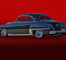 1949 Oldsmobile Coupe 3/4 Rear View by DaveKoontz