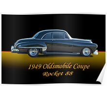 1949 Oldsmobile Coupe w/ ID Poster