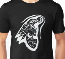 Raven Sun Serpent Moon Unisex T-Shirt