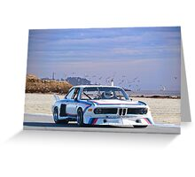 1975 BMW 3.5 CLS GT Greeting Card