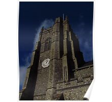 St Peters Church Tower, Monks Eleigh Poster