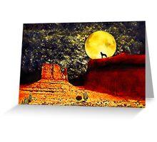 Desolate Desert Greeting Card