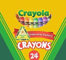 Crayola iPhone Case by CAsylum