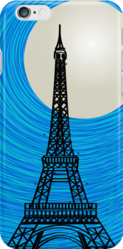 Paris card by Richard Laschon