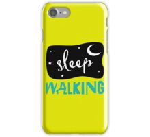 snooze iPhone Case/Skin