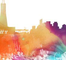 San Francisco City Skyline  Sticker