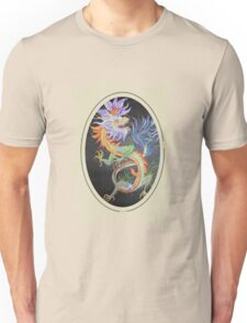 Chinese Dragon With Decorative Border Unisex T-Shirt