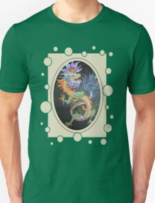 Chinese Dragon With Decorative Border T-Shirt