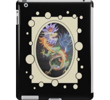 Chinese Dragon With Decorative Border iPad Case/Skin