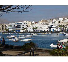 Picturesque Arrecife! Photographic Print