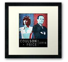 Coulson/Price 2016 Framed Print