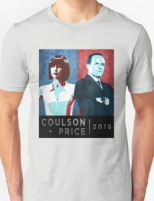 Coulson/Price 2016 Unisex T-Shirt