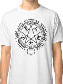 Anime - Hellsing Symbol (Black) Classic T-Shirt