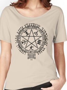 Anime - Hellsing Symbol (Black) Women's Relaxed Fit T-Shirt