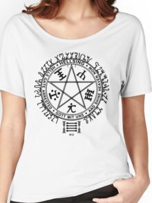 Anime - Hellsing Symbol (Black) Women's Relaxed Fit T-Shirt