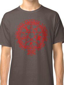 Anime - Hellsing Symbol (Red) Classic T-Shirt
