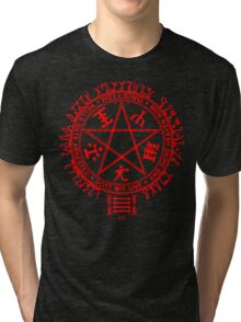 Anime - Hellsing Symbol (Red) Tri-blend T-Shirt