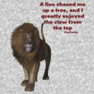 Lion Inspirational Confucius Quote by SmilinEyes