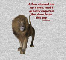 Lion Inspirational Confucius Quote Unisex T-Shirt