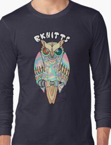 TRIPPY OWL Long Sleeve T-Shirt