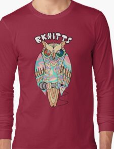 TRIPPY OWL Long Sleeve T-Shirt