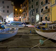 Boats of Riomaggiore, the Cinque Terre, Italy by RobGreebonPhoto