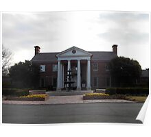 Governor's Mansion, Arkansas, USA. Poster