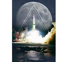 Explorers - Armstrong Photographic Print