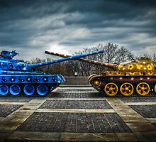 Eastern European Flowerpower Tanks by pixog
