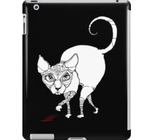 angry cat iPad Case/Skin