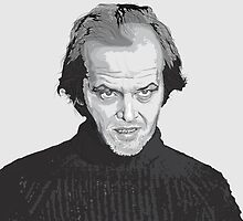 Jack Nicholson (Jack Torrance) The Shining  by Creative Spectator