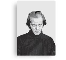 Jack Nicholson (Jack Torrance) The Shining  Canvas Print