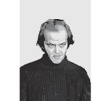 Jack Nicholson (Jack Torrance) The Shining  Photographic Print