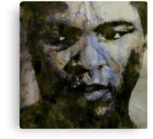 Muhammad Ali   ( A Change Is Gonna Come ) Canvas Print
