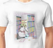 Anteater in Library Unisex T-Shirt