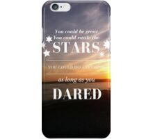 Rattle the Stars- Sarah J Maas, Throne of Glass- Sunset iPhone Case/Skin