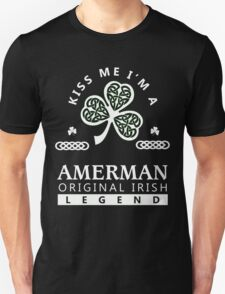AMERMAN Kiss me I am - T Shirt, Hoodie, Hoodies, Year, Birthday, Patrick's day T-Shirt