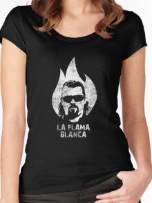 La Flama Blanca Women's Fitted Scoop T-Shirt