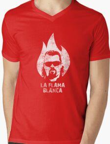 La Flama Blanca Mens V-Neck T-Shirt