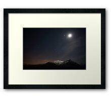 Glencoe Starscape Framed Print