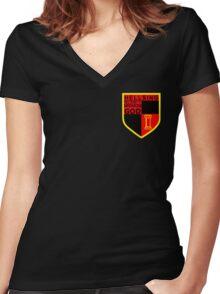 Anime - Hellsing Emblem Women's Fitted V-Neck T-Shirt