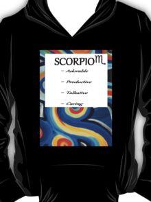 abstract scorpio horoscope shirt T-Shirt