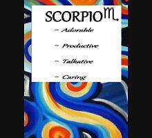 abstract scorpio horoscope shirt Unisex T-Shirt