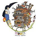 Howl&#x27;s Moving Castle by Stephanie Hodges