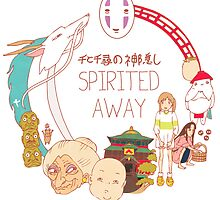 Spirited Away by Steph Hodges