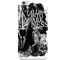 Falling into Darkness iPhone Case/Skin