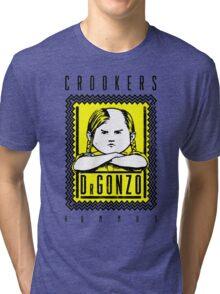 Crookers - Hummus Tri-blend T-Shirt