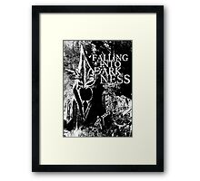 Falling into Darkness Framed Print