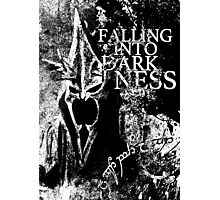 Falling into Darkness Photographic Print